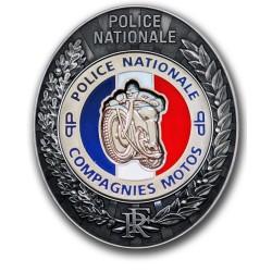 Plaque de Ceinture PP Moto PP Préfécture de Police PCEPPMOTOPP Préfécture de Police