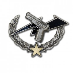 Insigne CNT Tireur Bronze