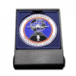 Médaille de Table Gendarmerie Transports aeriens GTA Gendarmerie MDTG705Gendarmerie