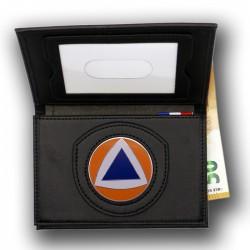 Porte-carte 3 volets Protection Civile