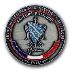 Médaille de Porte carte SDIS 78 Porte carte Pompier MDPCSDIS78Porte carte Pompier