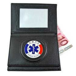 Porte Carte 3 volets UMPS Administratif Porte carte Secours PCA005Porte carte Secours