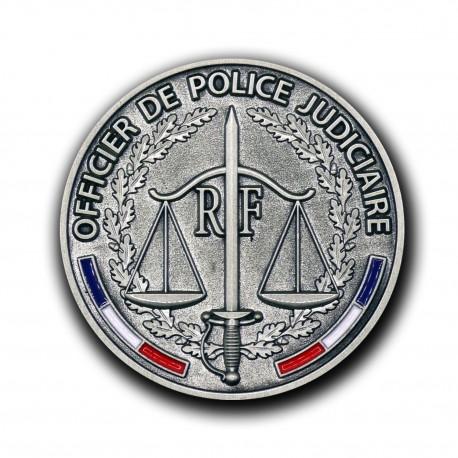 Médailles de porte carte Officier Police Judiciaire Médailles de portes cartes MDPCOPJMédailles de portes cartes