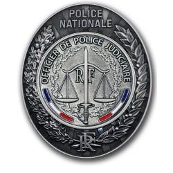 Plaque de Ceinture Police OPJ Police Nationale PCEPOPJPolice Nationale