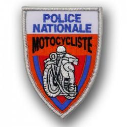 Ecusson Tissu Brodé Police Motocycliste Orange Modèles Disponibles à la Vente ECUMOTO01Modèles Disponibles à la Vente