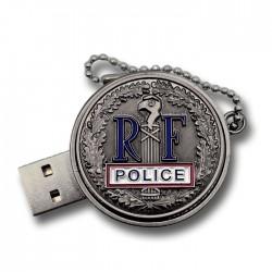 Clés USB 16Go Police RF 2.0 Accueil USB16PRFAccueil