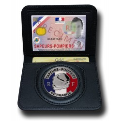 Porte Carte 2 volets Pompier Porte carte Pompier et Protection civile PCA001PDFPorte carte Pompier et Protection civile