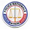 Ecusson Tissu Brodé  Police Nationale OPJ