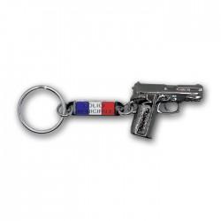 Porte clés pistolet Police Municipale Police Municipale PCLPM01Police Municipale