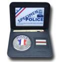 Porte-Carte Police 2 volets Grade