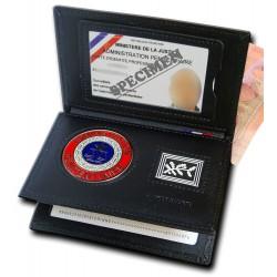 Porte-carte Administration Pénitentiaire 3 volets Grade - Porte-Carte Administration Pénitentiaire PCA006AP- Porte-Carte Admi...
