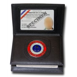 Porte Carte 3 volets Pénitentiaire Administratif Accueil PCA005Accueil