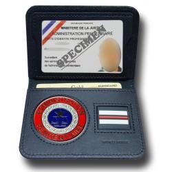 Porte Carte 2 volets Pénitentiaire + Grade Porte carte administration Pénitentiaire PCA002Porte carte administration Pénitent...