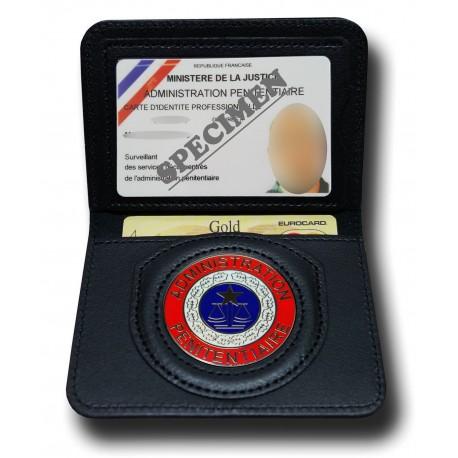 Porte Carte 2 volets Pénitentiaire Administratif Accueil PCA001Accueil