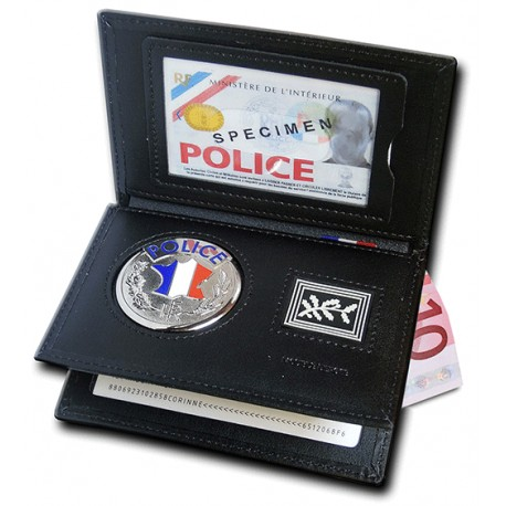 Porte carte Police 3 volets Grade Porte-Carte Police Nationale PCA006Porte-Carte Police Nationale