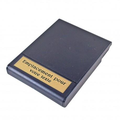 Plaquette a graver pour écrin de médaille de table Médailles de Table MDTP000Médailles de Table