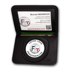 porte-carte 2 volets ADM personnalisable Porte-cartes Personnalisables PCAP001Porte-cartes Personnalisables