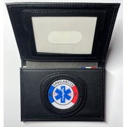 Porte-carte Ambulancier 3 volets administratif Porte-Carte Secours PCA005AMBUPorte-Carte Secours