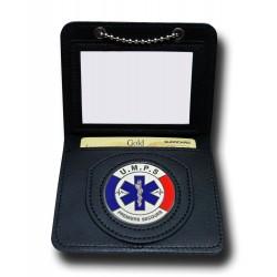 Porte Carte Chaînette UMPS Administratif Porte carte Secours PCA003Porte carte Secours
