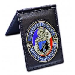 Porte Carte Patrouilleur Gendarmerie OPJ Accueil PCA007GOPJAccueil