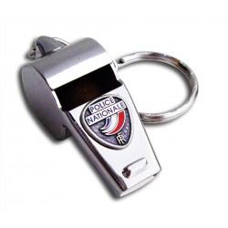 Porte clés police nationale Sifflet Accueil PCLP04Accueil