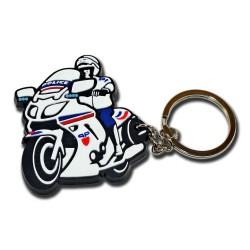 Porte clés Moto Préfecture Police Accueil PCLP12Accueil