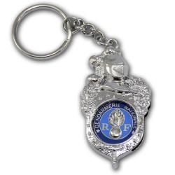 Porte clés Gendarmerie Bayard Accueil PCLG06Accueil