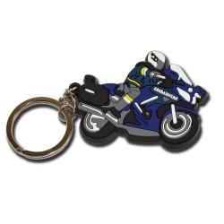 Porte clés Thermo-injecté Gendarmerie Moto Accueil PCLG11Accueil