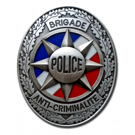 Plaque de Ceinture Standard BAC Police Nationale PCE001Police Nationale