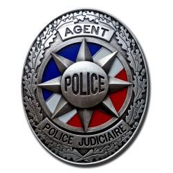 Plaque de Ceinture Standard APJ Police Nationale PCE002Police Nationale