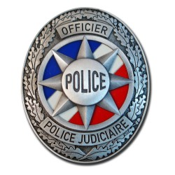 Plaque de Ceinture Standard OPJ Police Nationale PCE003Police Nationale