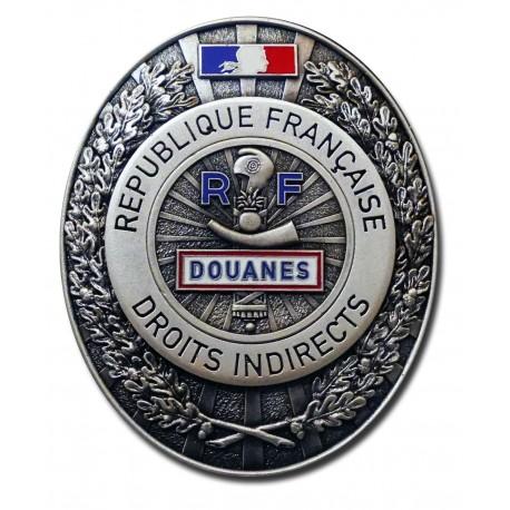 Plaque de Ceinture Standard DOUANES Douanes PCE006Douanes
