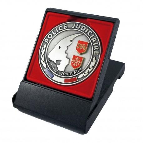 Médaille de Table DCPJ OCLCCO Accueil MED103Accueil