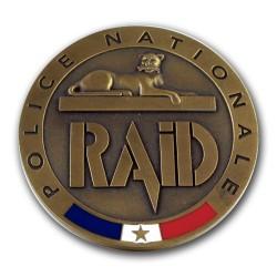 Médaille de Table RAID Accueil MED105Accueil