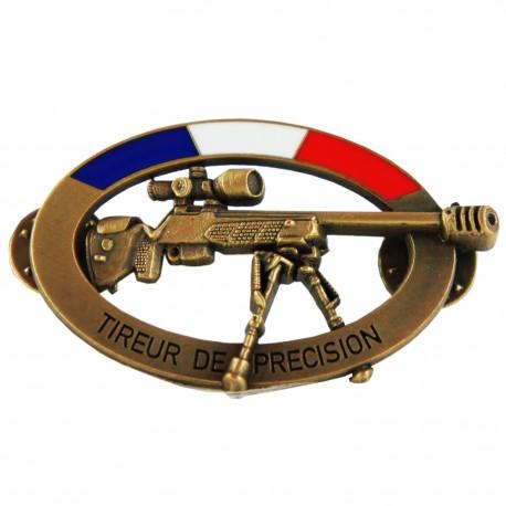 Insigne CNT Tireur de Précision Bronze Accueil CNT10Accueil