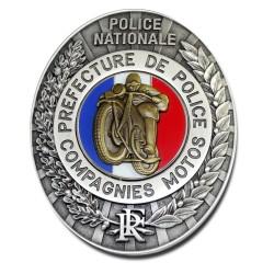 Plaque de Ceinture Standard MOTO PP Préfécture de Police PCE008PP Préfécture de Police