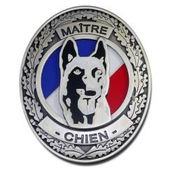 Plaque de Ceinture Standard Maitre Chien Police Nationale PCE009Police Nationale