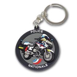 Porte clés Moto Police Nationale Accueil PCLP13Accueil
