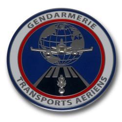 Médaille de Table Gendarmerie Transports aeriens GTA Accueil MDTG705Accueil