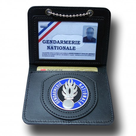 Porte Carte Chaînette Gendarmerie Administratif Accueil PCA003Accueil