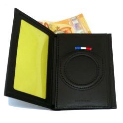 Porte Carte 3 volets vertical ADM SEUL Accueil PCAD011Accueil