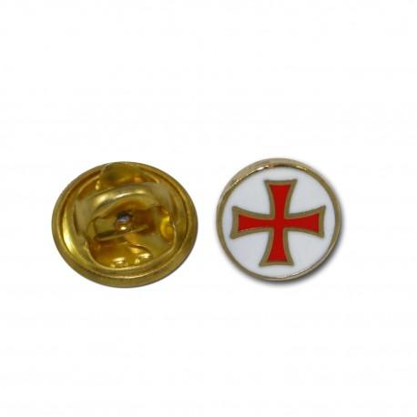 Pin's croix templier Accueil PIN02Accueil