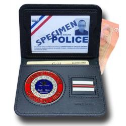 Porte Carte 2 volets Billet Penitentiaire + Grade Accueil PCA008Accueil