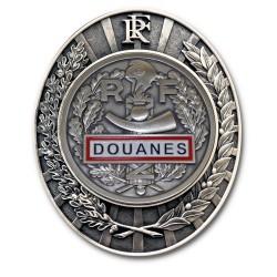 Plaque de Ceinture Douane RF Douanes PCEDRFDouanes
