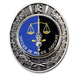 Plaque de Ceinture Gendarmerie OPJ