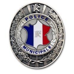 Plaque de Ceinture Police Municipale Police Municipale PCEPMPolice Municipale