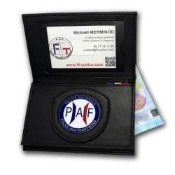 Porte-carte Police aux Frontieres PAF 3 volets administratif Porte-carte Police Aux Frontieres PAF PCA005PAFPorte-carte Polic...