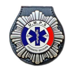 Plaque de Ceinture Unité Mobile de Prmier Secours Pompier PCEUMPSPompier