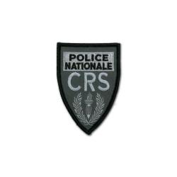 Ecusson Brodé CRS Basse visibilité Triangulaire Petit Modèles Disponibles à la Vente ECUCRSBVPMModèles Disponibles à la Vente