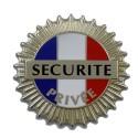 Porte-Carte Sécurité Privée
